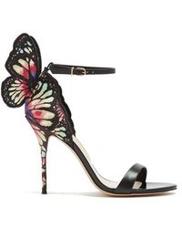 Sophia Webster - Chiara Butterfly-wing Suede Sandals - Lyst