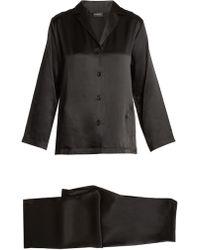 La Perla - Silk-satin Pyjama Set - Lyst