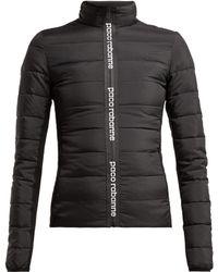 Paco Rabanne - Printed Logo Padded Jacket - Lyst