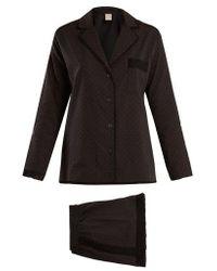 Morpho + Luna - Cara Cotton-plumetis Pyjama Set - Lyst