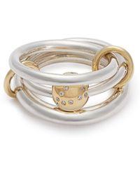 Spinelli Kilcollin - Neptune Diamond & Sterling Silver Ring - Lyst