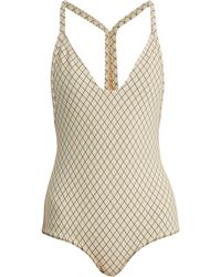 Made By Dawn - Traveller Racer Back Swimsuit - Lyst