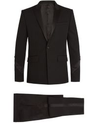 Givenchy - Single-breasted Satin-trimmed Wool Tuxedo - Lyst