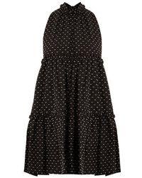 Lisa Marie Fernandez - Mini Ruffle-trimmed Cotton Dress - Lyst
