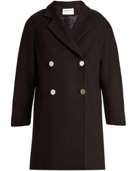 OSMAN - Estella Double-breasted Wool-blend Coat - Lyst