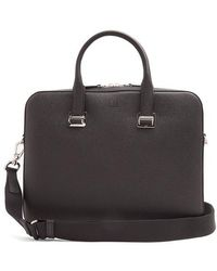 Dunhill - Cadogan Grained-leather Briefcase - Lyst