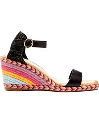 Sophia Webster - Lucita Wedge Sandals - Lyst
