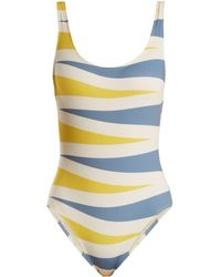 Solid & Striped - The Anne Marie Backgammon Print Swimsuit - Lyst