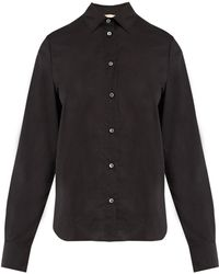Brock Collection - Baylee Point-collar Cotton-voile Shirt - Lyst