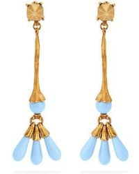 Valentino - Bead-embellished Earrings - Lyst