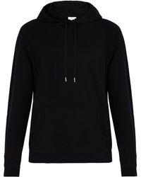 Sunspel - Cotton Hooded Sweatshirt - Lyst