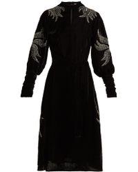 Dodo Bar Or - Velvet Dress - Lyst