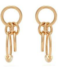 Chloé - Reese Hoop Drop Earrings - Lyst