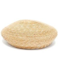 Maison Michel - New Bonnie Straw Beret Hat - Lyst