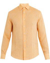 Frescobol Carioca - Point Collar Linen Shirt - Lyst