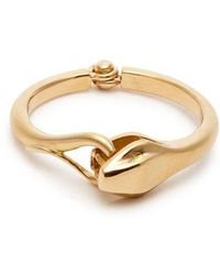 Marc Alary - - Snake 18kt Gold Ring - Womens - Yellow Gold - Lyst