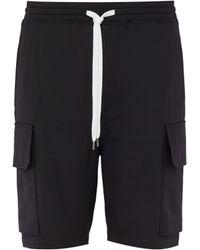 Neil Barrett - Relaxed Fit Cargo Shorts - Lyst