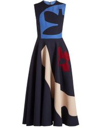 ROKSANDA - Kerama Graphic-print Dress - Lyst