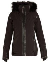 Lacroix - Wave Fur-trimmed Technical Ski Jacket - Lyst