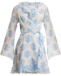 Athena Procopiou - Vagabond Long Sleeve Wrap Dress - Lyst