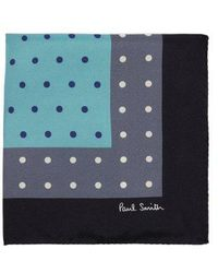 Paul Smith - Polka-dot Tricolour Pocket Square - Lyst