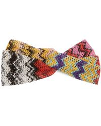 Missoni | Zigzag Knitted Headband | Lyst
