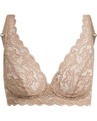 Hanro - Moments Floral-lace Bra - Lyst