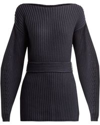 Apiece Apart - Suus Belted Cotton Blend Jumper - Lyst
