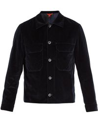 Barena | Single-breasted Stretch-cotton Velvet Jacket | Lyst