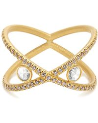 Susan Foster - - Diamond & Yellow Gold Ring - Womens - Yellow Gold - Lyst