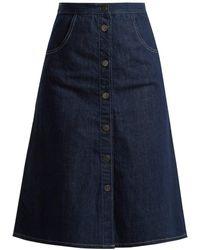 M.i.h Jeans - Calcott Denim Skirt - Lyst