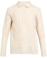 Cottweiler - Cave Merino Wool And Mohair Polo Jumper - Lyst