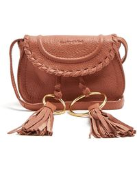 See By Chloé - Polly Mini Leather Cross-body Bag - Lyst