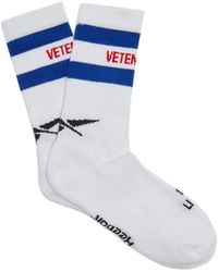 Vetements - X Reebok Classic Cotton-blend Socks - Lyst