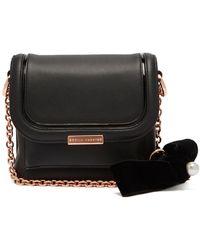 Sophia Webster - Claudie Bow Embellished Leather Cross Body Bag - Lyst