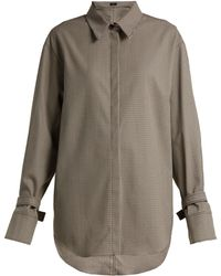 JOSEPH - Renne Houndstooth Shirt - Lyst