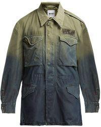 MYAR - Us Army Ombré Cotton Military Jacket - Lyst