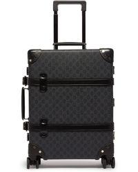 Gucci - X Globe Trotter Gg Supreme Cabin Case - Lyst