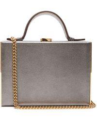 Mark Cross - Rear Window Mini Leather Overnight Case - Lyst