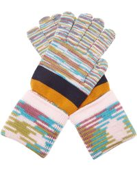 Missoni - Striped Wool Gloves - Lyst