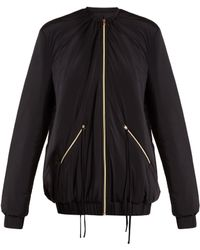 Charli Cohen | Bomber 2s Oversized Jersey Performance Jacket | Lyst
