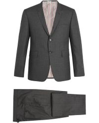 Thom Browne | Single-breasted Wool Suit | Lyst