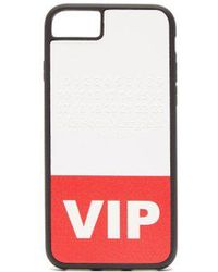 Maison Margiela - - Vip Printed Iphone® 8 Phone Case - Womens - Red White - Lyst