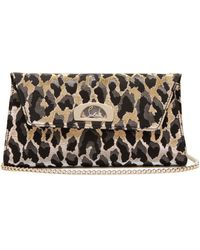 1e5e51bf5e Christian Louboutin Vero-dodat Clutch in Brown - Lyst
