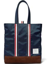 Thom Browne - Striped Tote Bag - Lyst