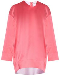 Thomas Tait - Duchess-satin Tunic Dress - Lyst