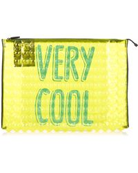 Pleats Please Issey Miyake - Puchi Puchi Very Cool Bubble Pouch - Lyst
