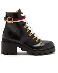 164411642 Women's Gucci Ankle boots On Sale - Lyst