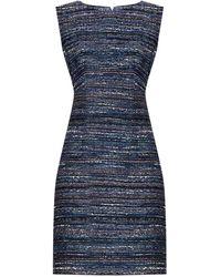 Diane von Furstenberg - Carrie Bouclé-Tweed Dress - Lyst