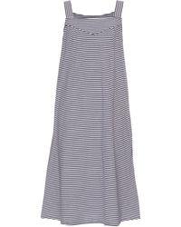 A.P.C. - Tulum Striped Cotton-jersey Dress - Lyst